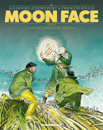 Moon Face The Egg of the Soul