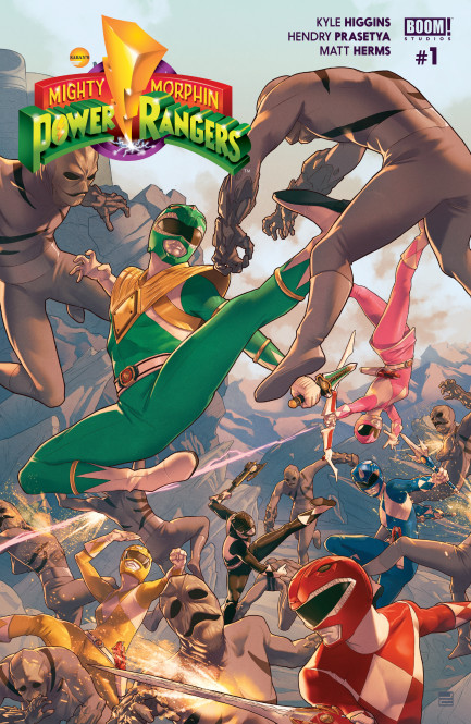 Mighty Morphin Power Rangers Mighty Morphin Power Rangers #1