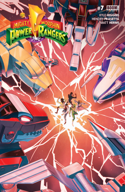 Mighty Morphin Power Rangers Mighty Morphin Power Rangers #7