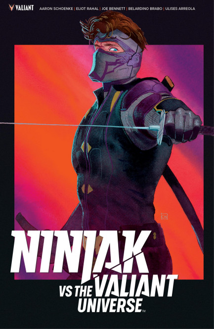 Ninjak vs. The Valiant Universe Ninjak vs. The Valiant Universe TPB