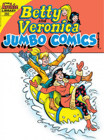 Betty & Veronica Jumbo Comics Digest Betty & Veronica Jumbo Comics Digest #260