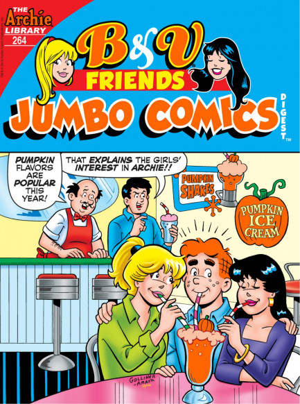 B&V Friends Jumbo Comics Digest B&V Friends Jumbo Comics Digest #264