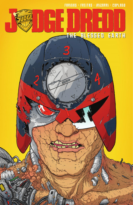 Judge Dredd: The Blessed Earth Judge Dredd: The Blessed Earth, Vol. 2