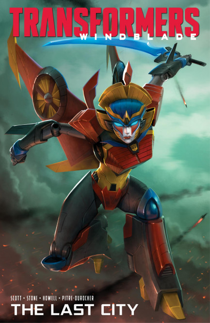 Transformers Windblade: The Last City Transformers Windblade - The Last City