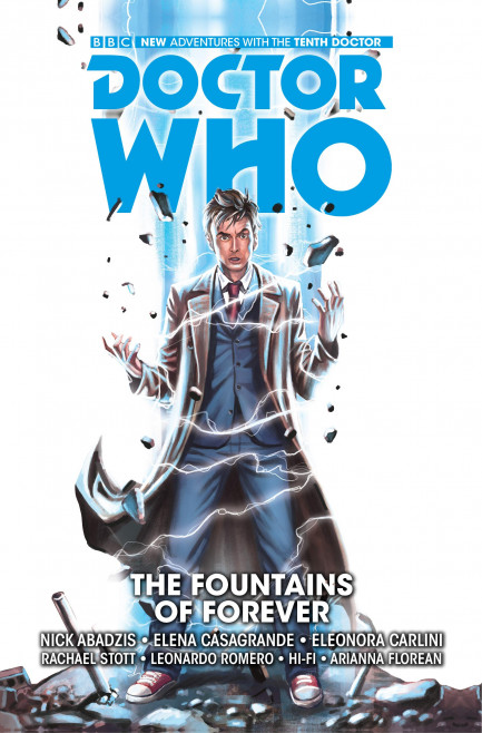Doctor Who: The Tenth Doctor Doctor Who: The Tenth Doctor - Volume 3 - The Fountains of Forever