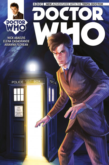 Doctor Who: The Tenth Doctor Issue 3
