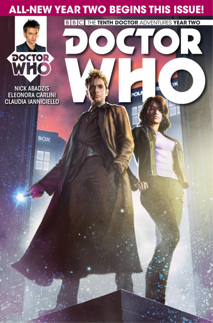 Doctor Who: The Tenth Doctor Doctor Who: The Tenth Doctor Year 2 - Volume 1 - The Endless Song - Chapter 1