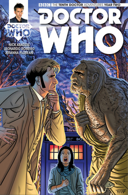 Doctor Who: The Tenth Doctor Doctor Who: The Tenth Doctor Year 2 - Volume 1 - The Endless Song - Chapter 4