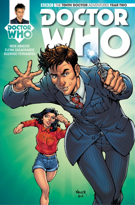 Doctor Who: The Tenth Doctor Doctor Who: The Tenth Doctor Year 2 - Volume 2 - Arena of Fear - Chapter 2