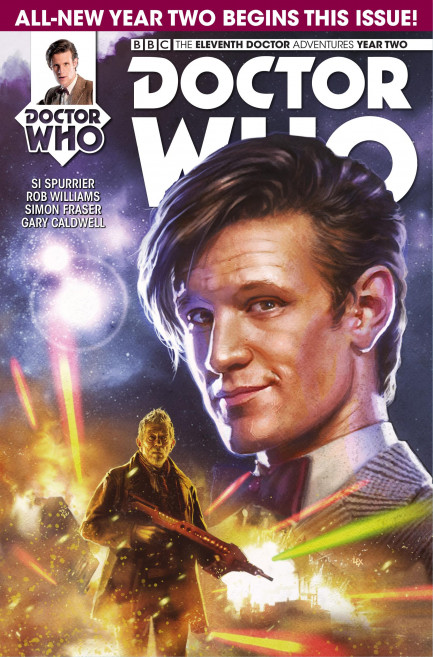 Doctor Who: The Eleventh Doctor Doctor Who: The Eleventh Doctor Year 2 - Volume 1 - The Then And The Now - Chapter 1