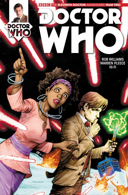 Doctor Who: The Eleventh Doctor Doctor Who: The Eleventh Doctor Year 2 - Volume 1 - The Then And The Now - Chapter 4