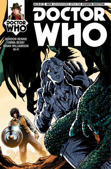 Doctor Who: The Fourth Doctor Doctor Who: The Fourth Doctor - Volume 1 - Gaze of the Medusa - Chapter 3