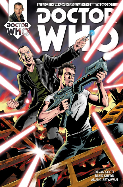 Doctor Who: The Ninth Doctor Doctor Who: The Ninth Doctor - Volume 1 - Weapons of Past Destruction - Chapter 4