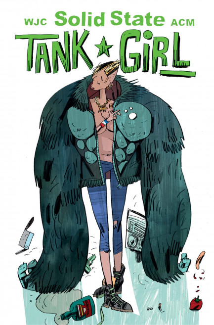 Tank Girl Tank Girl - Solid State Tank Girl - Volume 1