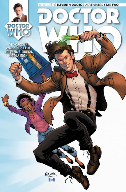 Doctor Who: The Eleventh Doctor Doctor Who: The Eleventh Doctor Year 2 - Volume 2 - The One - Chapter 3