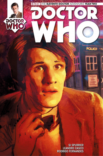 Doctor Who: The Eleventh Doctor Doctor Who: The Eleventh Doctor Year 2 - Volume 2 - The One - Chapter 4