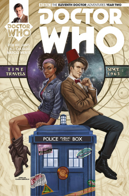 Doctor Who: The Eleventh Doctor Doctor Who: The Eleventh Doctor Year 2 - Volume 3 - The Malignant Truth - Chatper 2