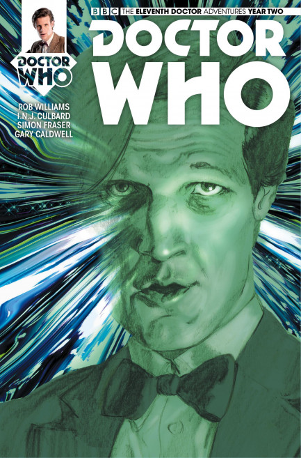 Doctor Who: The Eleventh Doctor Doctor Who: The Eleventh Doctor Year 2 - Volume 3 - The Malignant Truth - Chatper 3
