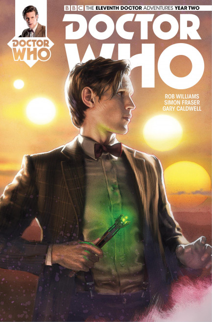 Doctor Who: The Eleventh Doctor Doctor Who: The Eleventh Doctor Year 2 - Volume 3 - The Malignant Truth - Chatper 4