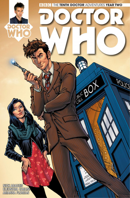 Doctor Who: The Tenth Doctor Doctor Who: The Tenth Doctor Year 2 - Volume 2 - Arena of Fear - Chapter 3