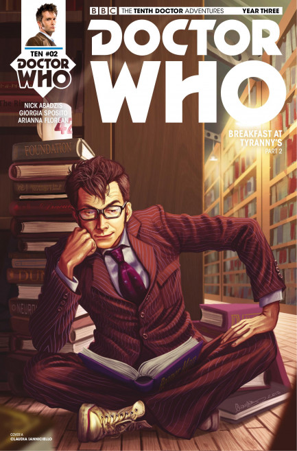 Doctor Who: The Tenth Doctor Doctor Who: The Tenth Doctor Year 3 - Volume 1 - Breakfast At Tyranny's - Chapter 2