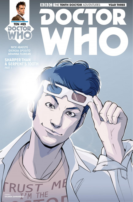 Doctor Who: The Tenth Doctor Doctor Who: The Tenth Doctor Year 3 - Volume 1 - Breakfast At Tyranny's - Chapter 3