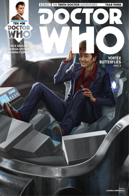 Doctor Who: The Tenth Doctor Doctor Who: The Tenth Doctor Year 3 - Volume 2 - Vortex Butterflies - Chapter 4