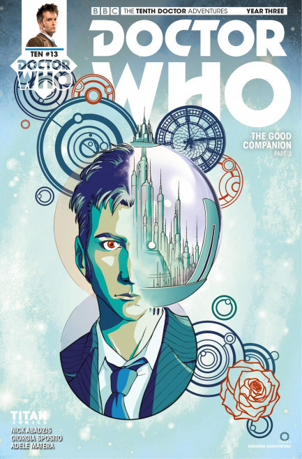 Doctor Who: The Tenth Doctor Doctor Who: The Tenth Doctor Year 3 - Volume 3 - The Good Companion - Chapter 4