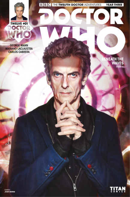 Doctor Who: The Twelfth Doctor Doctor Who: The Twelfth Doctor Year 3 - Volume 1 - The Terror Beneath - Chapter 1