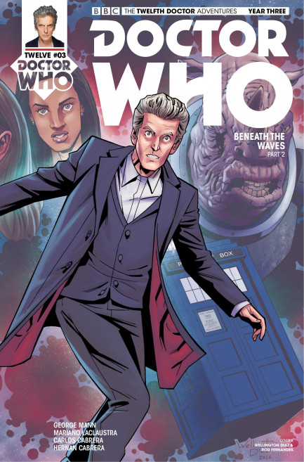 Doctor Who: The Twelfth Doctor Doctor Who: The Twelfth Doctor Year 3 - Volume 1 - The Terror Beneath - Chapter 3