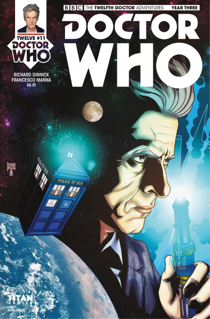 Doctor Who: The Twelfth Doctor Doctor Who: The Tweflth Doctor Year 3 - Volume 2 - A Confusion of Angels - Chapter 2