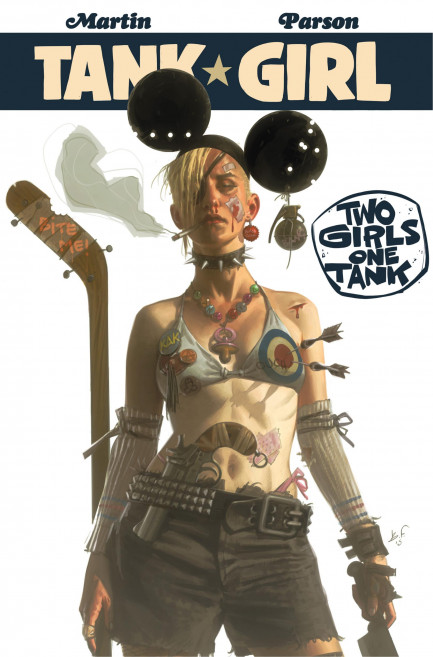 Tank Girl Tank Girl - Tank Girl: Two Girls One Tank - Chapter 1