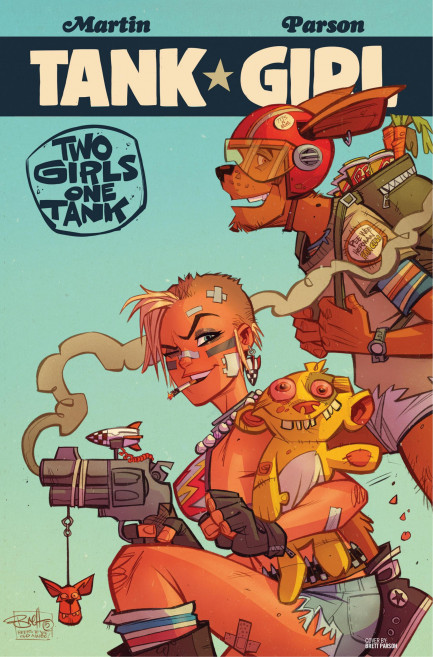 Tank Girl Tank Girl - Tank Girl: Two Girls One Tank - Chapter 2
