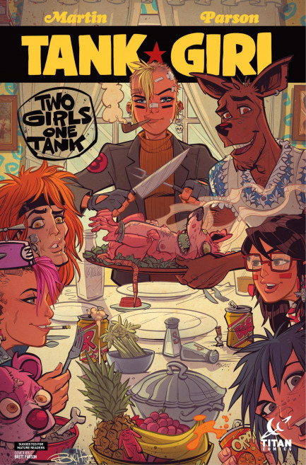 Tank Girl Tank Girl - Tank Girl: Two Girls One Tank - Chapter 3
