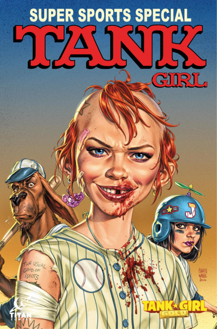 Tank Girl Tank Girl - Tank Girl: Gold - Chapter 2