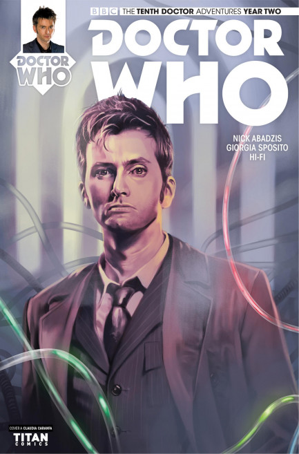 Doctor Who: The Tenth Doctor Doctor Who: The Tenth Doctor Year 2 - Volume 4 - War of Gods - Chapter 2