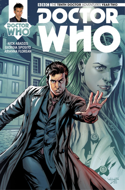 Doctor Who: The Tenth Doctor Doctor Who: The Tenth Doctor Year 2 - Volume 4 - War of Gods - Chapter 3