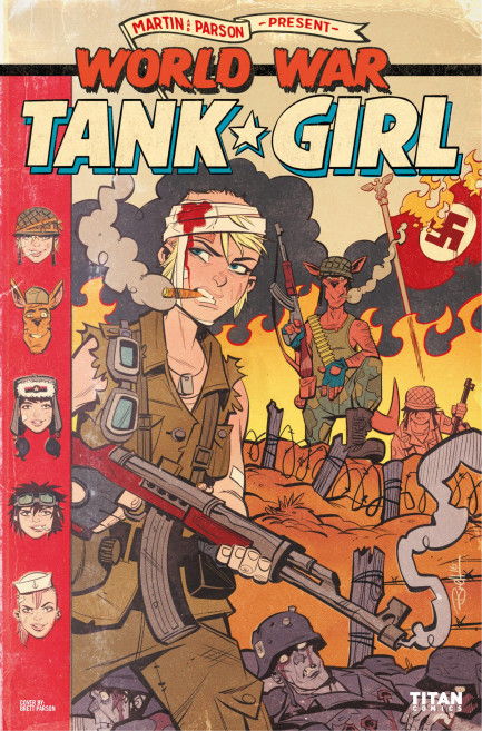 Tank Girl Tank Girl - World War Tank Girl - Chapter 2