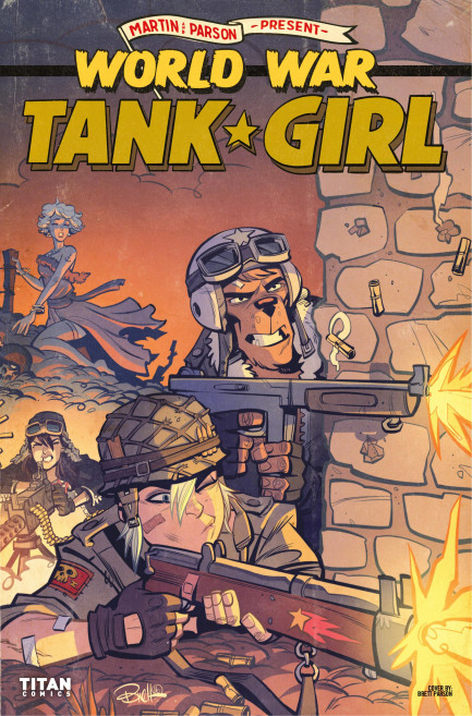 Tank Girl Tank Girl - World War Tank Girl - Chapter 3