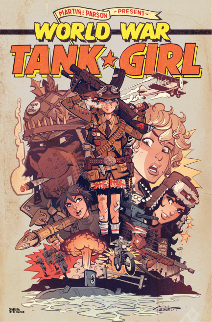 Tank Girl Tank Girl - World War Tank Girl - Chapter 4
