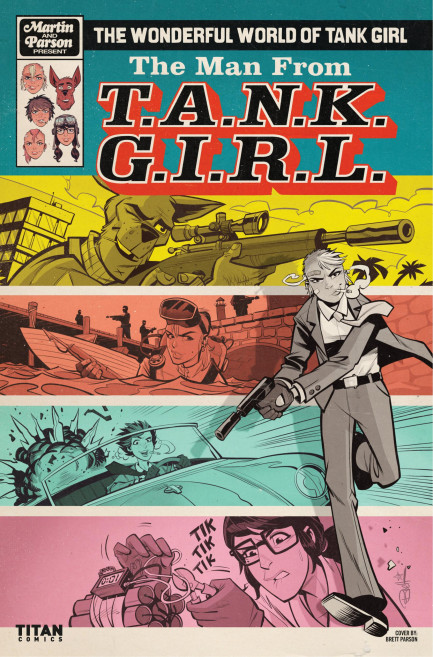 Tank Girl Tank Girl - The Wonderful World of Tank Girl - Chapter 3