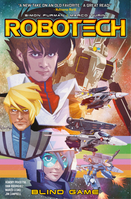 Robotech Robotech - Volume 3 - Blind Game