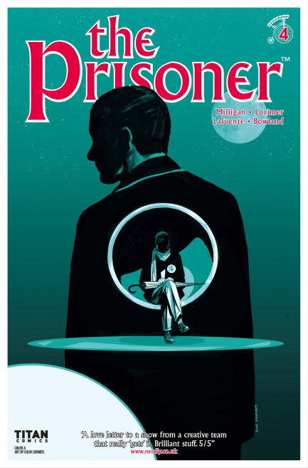 The Prisoner The Prisoner - Volume 1 - The Uncertainty Machine - Chapter 4