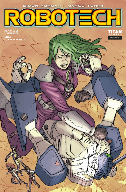 Robotech Robotech - Volume 3 - Blind Game - Chapter 2