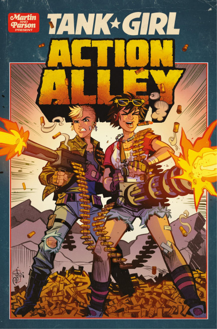 Tank Girl Tank Girl - Action Alley - Chapter 3