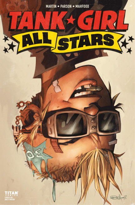 Tank Girl Tank Girl - Tank Girl All Stars - Chapter 3