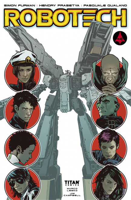 Robotech Robotech - Volume 5 - Showdown - Chapter 1