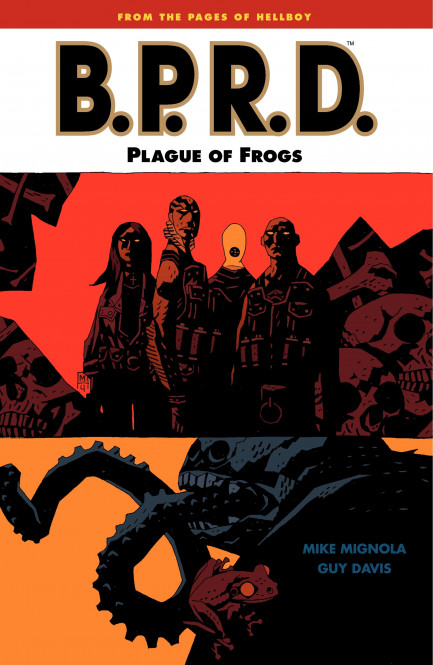 B.P.R.D. Plague of Frogs