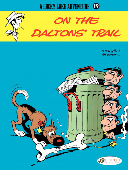 Lucky Luke On the Daltons' Trail
