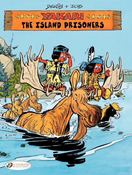 Yakari The Island Prisoners